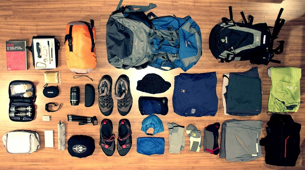 Nên mang theo gì khi đi phượt
