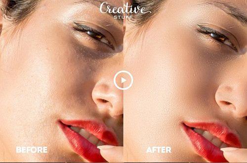 Cách làm mịn da mặt cơ bản bằng photoshop