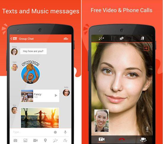 Các ứng dụng gọi video trên điện thoại android