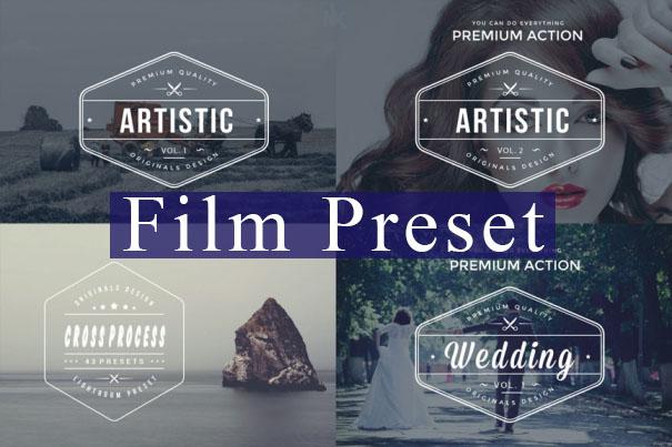 Bộ Preset VSCO film cho camera raw photoshop