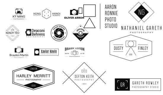Hướng dẫn làm logo photography đơn giản