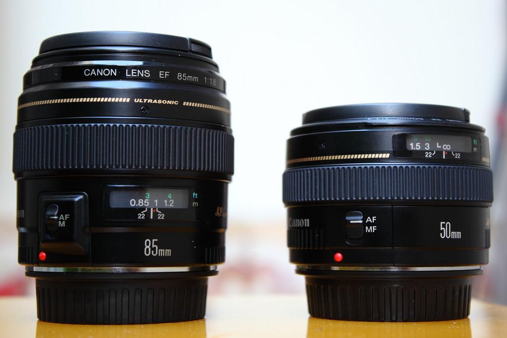 Nên mua lens 50mm hay 85mm