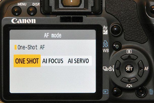 Các chế độ lấy nét trên máy ảnh DSLR