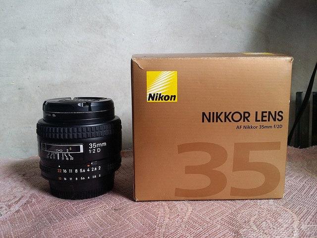 Đánh giá lens nikon AF 35F/2D