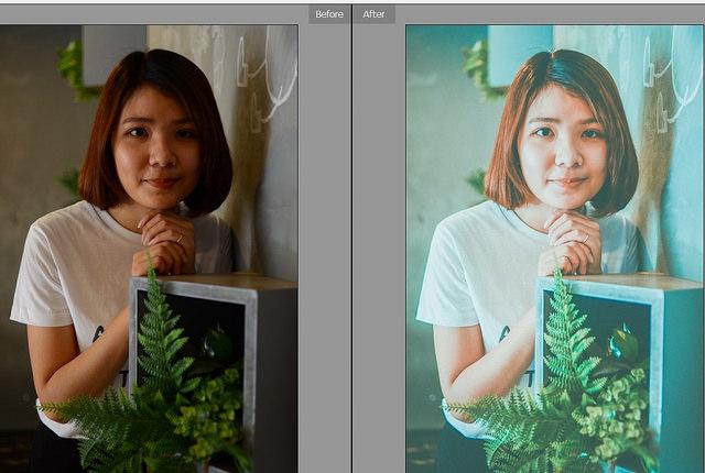 Cách chỉnh ảnh màu film bằng lightroom