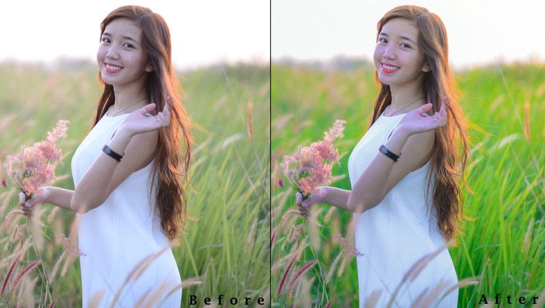 Cách blend màu nắng đẹp bằng photoshop