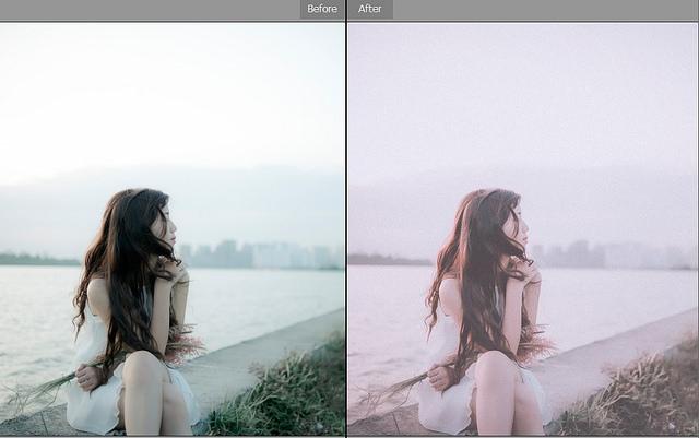 Cách blend màu film bằng photoshop
