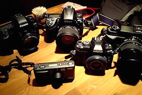 Cách test máy ảnh cũ đã qua sử dụng