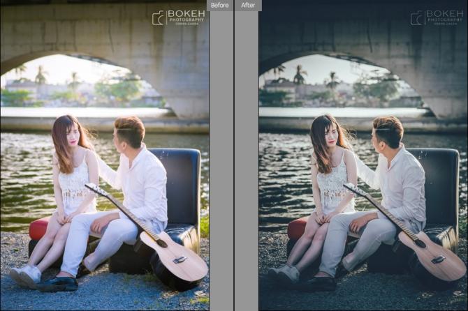 Preset màu cổ điển đẹp cho camera raw trên photoshop