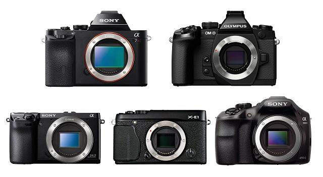 Tổng hợp máy ảnh Mirrorless giá rẻ