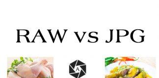 Nên lưu ảnh chụp bằng file raw hay jpg