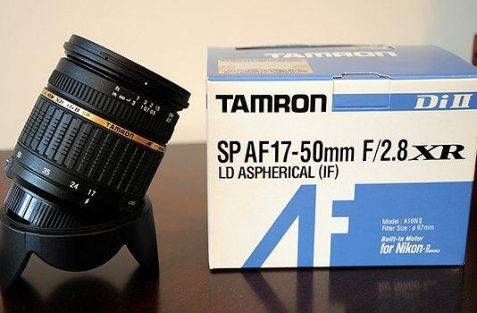 Đánh giá lens Tamron 17-50F/2.8 non VC for Nikon
