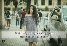 Khắc phục plugin không hiện trong filter photoshop