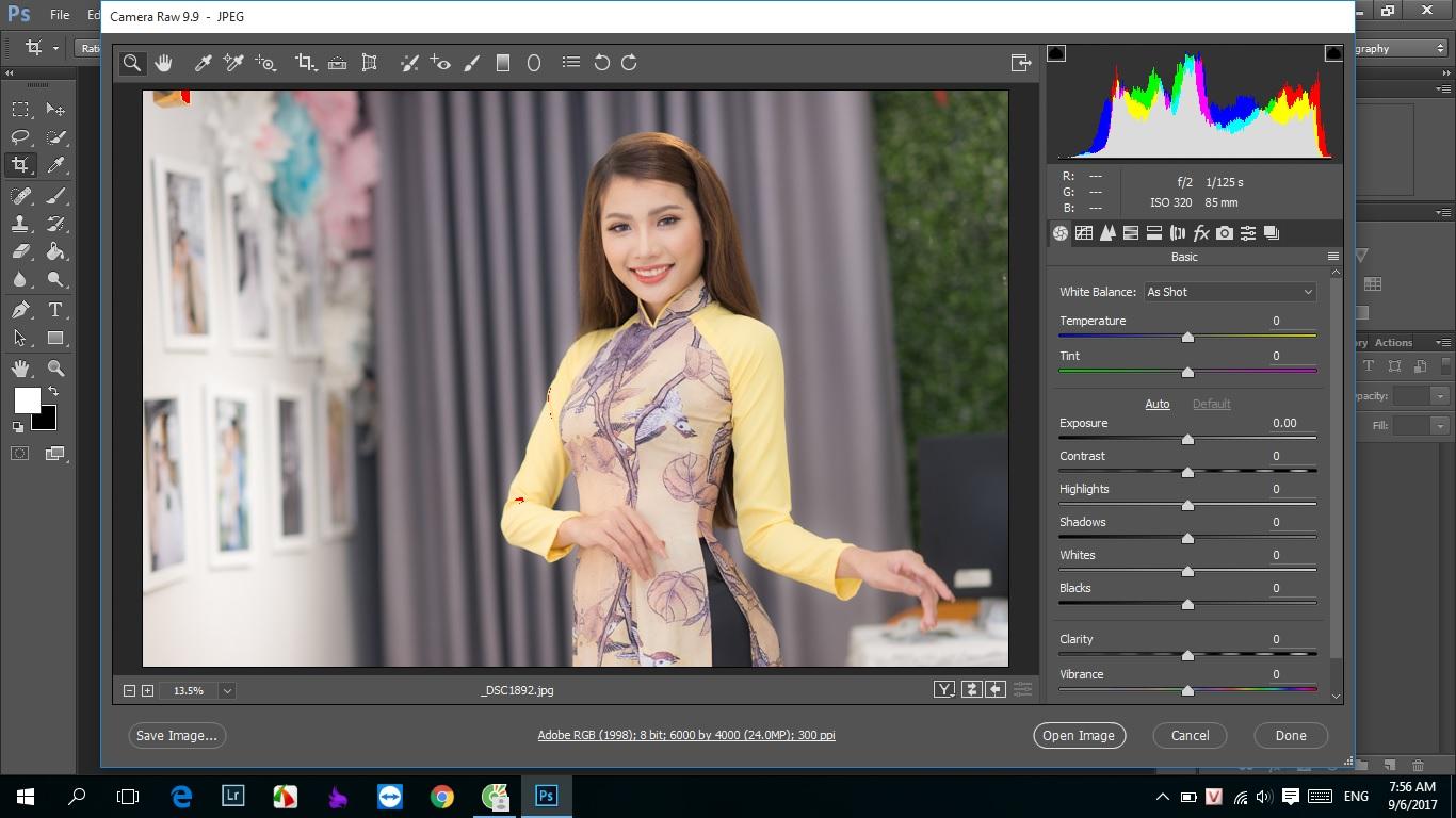 Cách xử lý ảnh trên photoshop khác màu sau khi chỉnh sửa