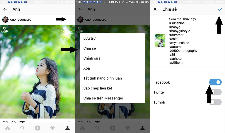 3 cách up ảnh nét căng lên facebook bằng điện thoại