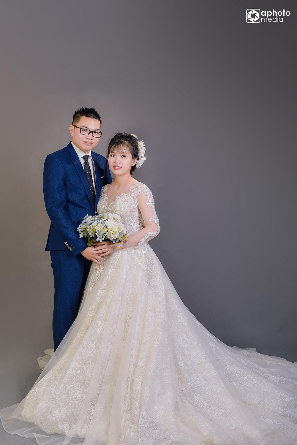 Ảnh cưới chụp ở studio đẹp