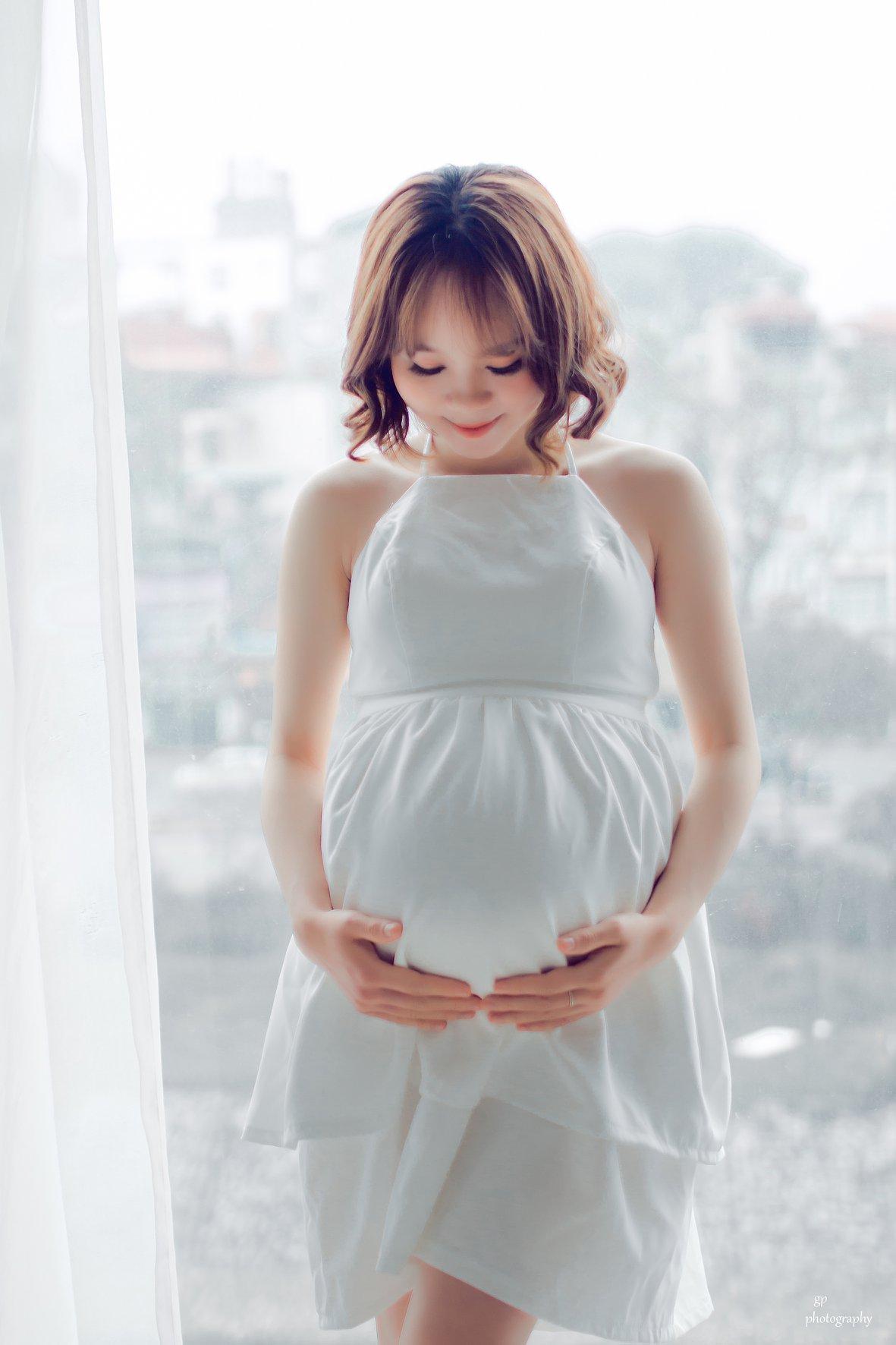 Ảnh đẹp của mẹ bầu sắp sinh