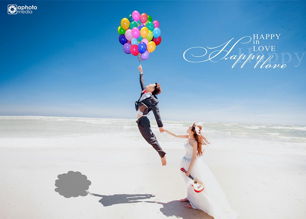 Chụp ảnh cưới ngoại cảnh tại Hồ Cốc