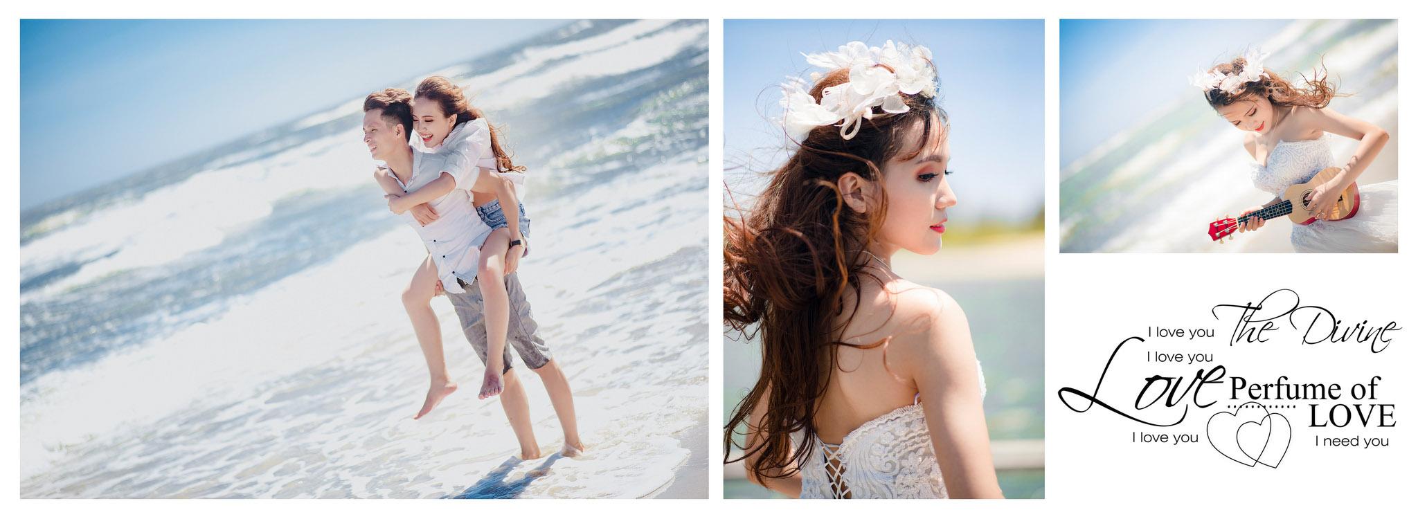 Album ảnh cưới đẹp tại Hồ Cốc Vũng Tàu