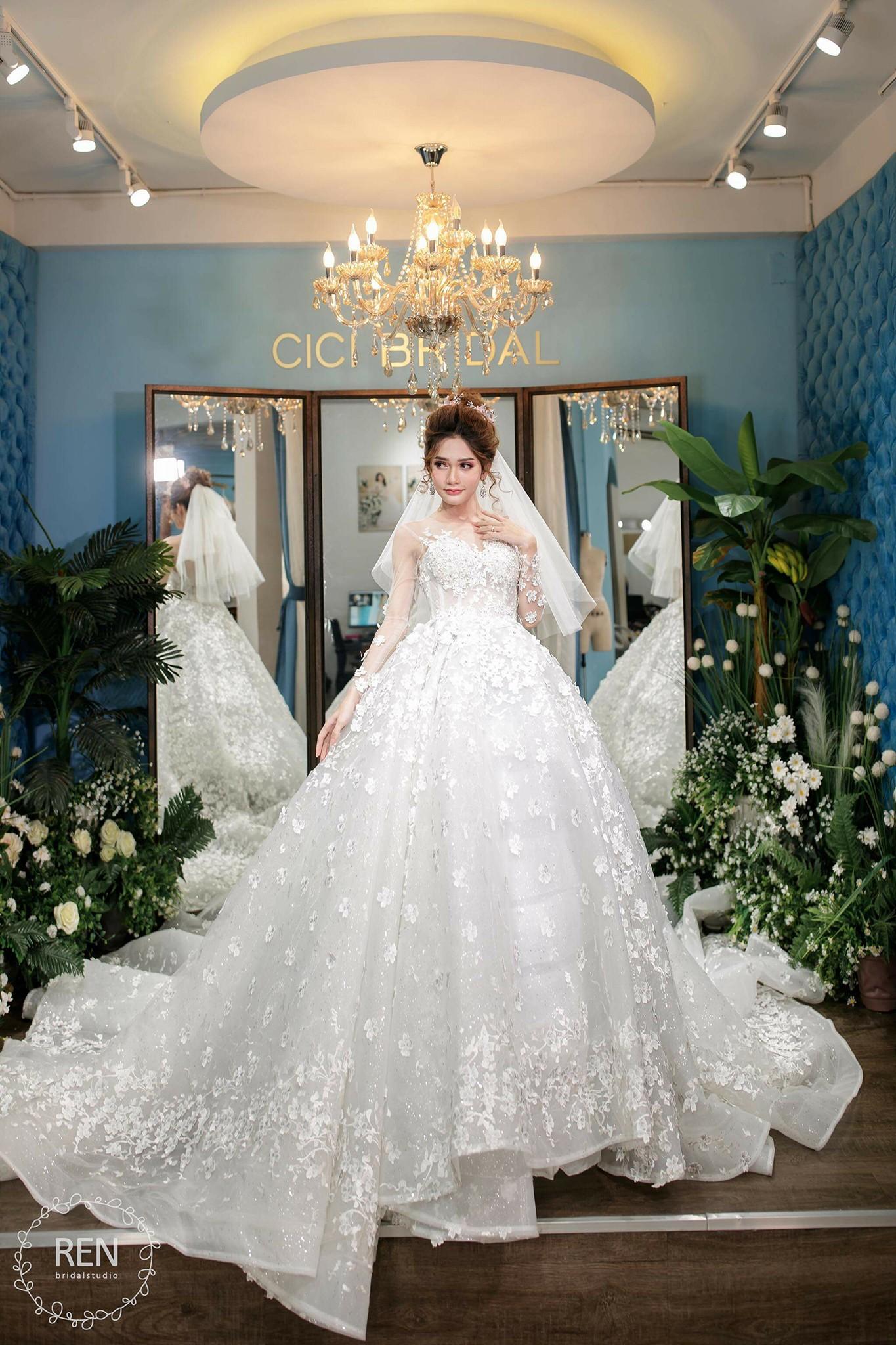 Mẫu chụp ảnh cô dâu đơn đẹp