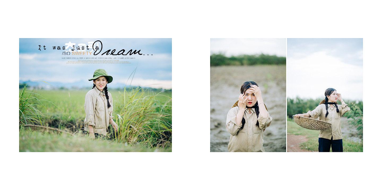 Hình ảnh được thiết kế bằng smart album 2
