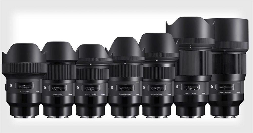 Lens sigma cho nikon và canon