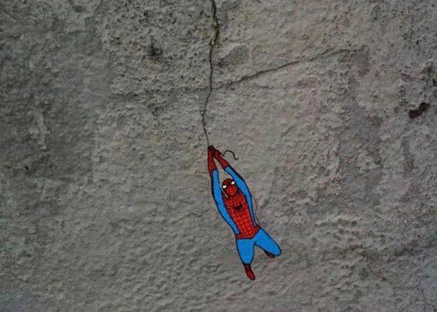 Người nhện đến đây
