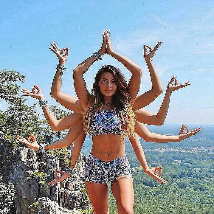 Cô gái nghìn tay