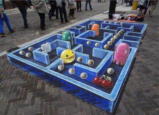 Những tác phẩm siêu đẹp khiến ai cũng phải ngoái nhìn ở trên đường phố
