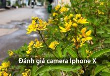 Đánh giá giá camera của Iphone X