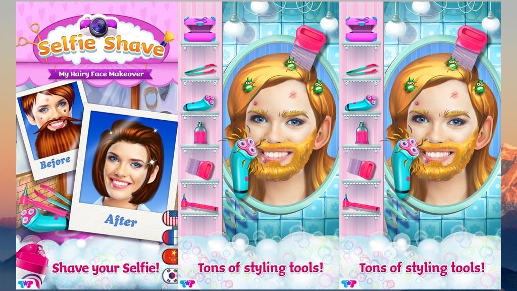 Selfies Shave