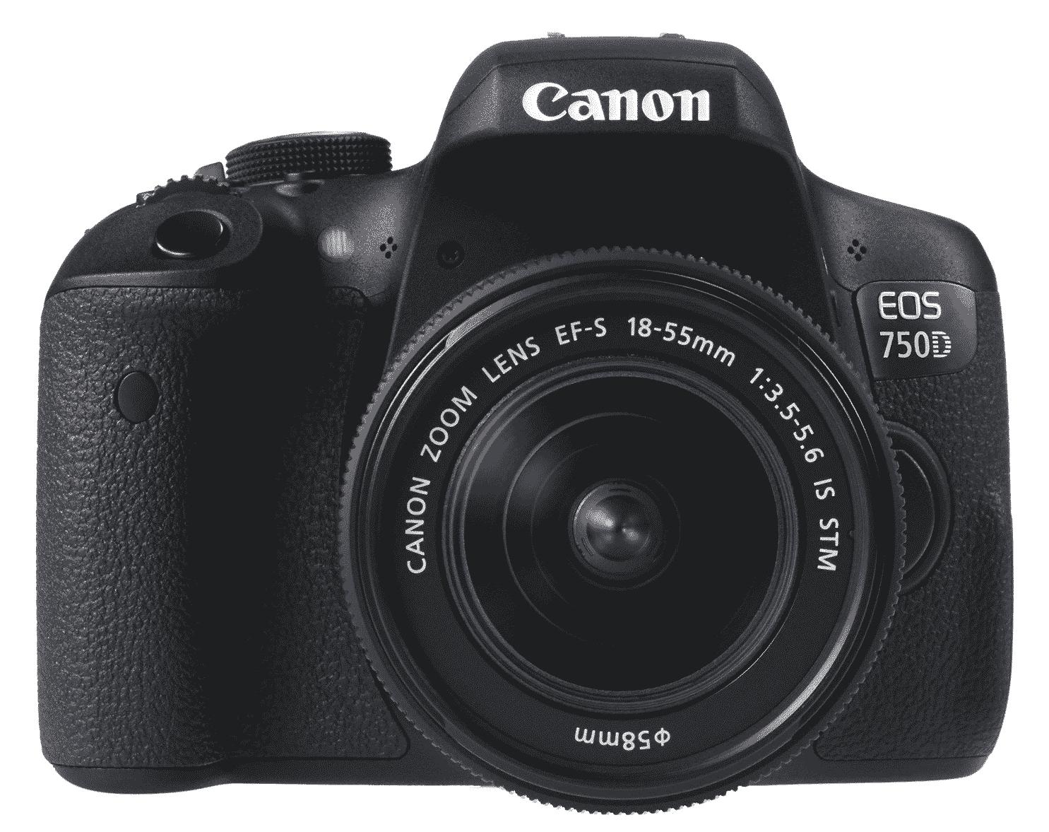 Canon 750D với lens 18-55 IS STM