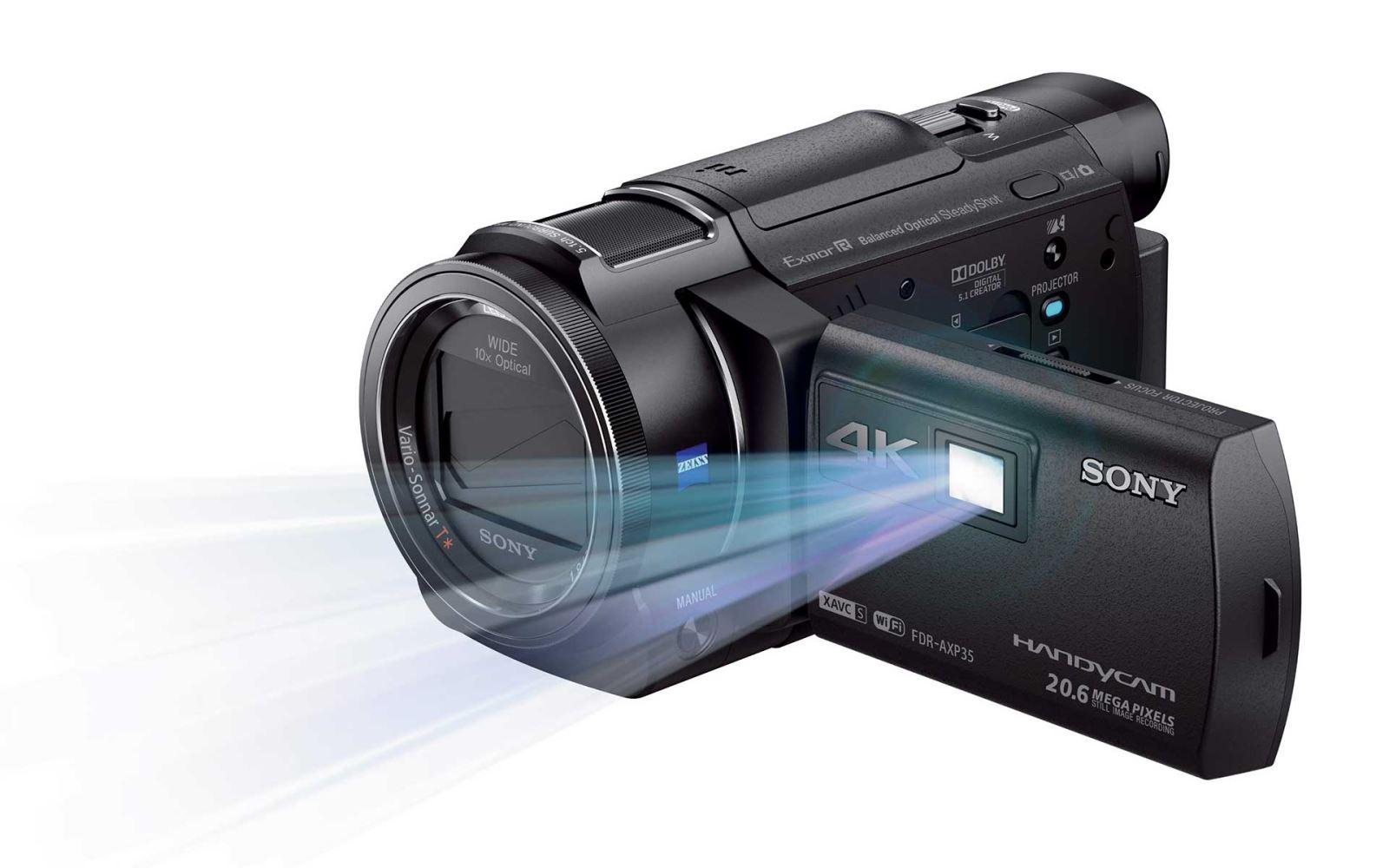 Máy quay phim Sony