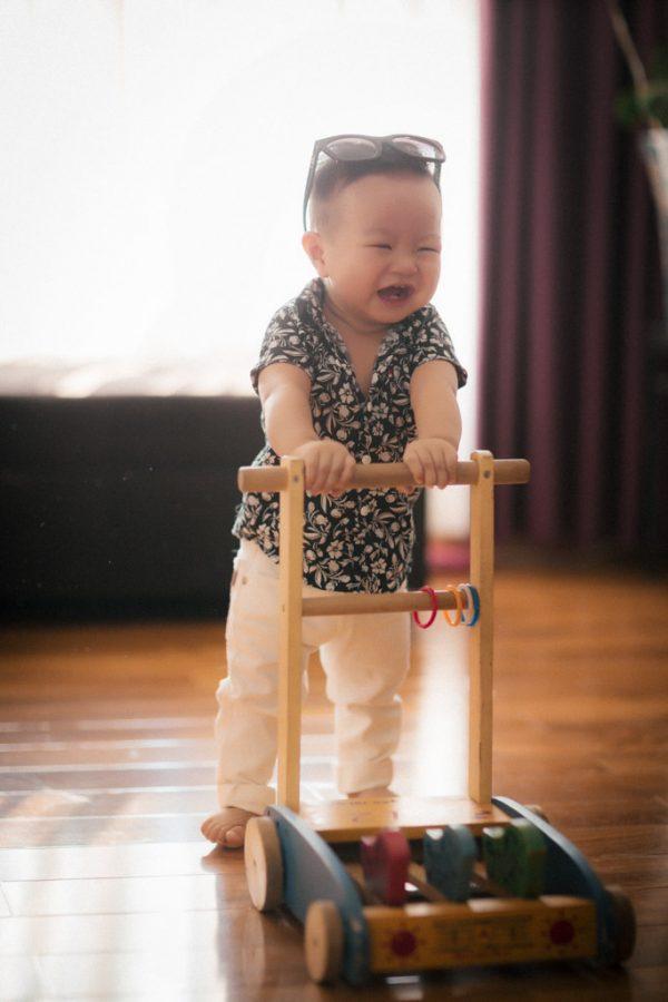 Chuẩn bị đồ chơi cho bé