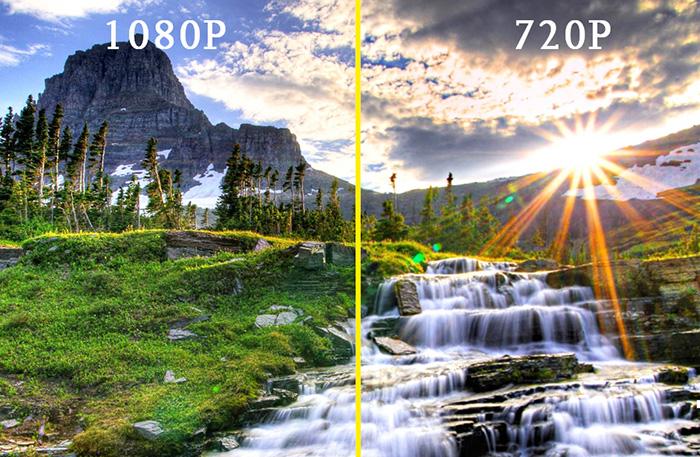 Chọn độ phân giải hình ảnh