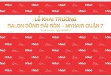 Thư mời mẫu trải nghiệm dịch vụ salon tóc Dũng Sài Gòn – MYhair lớn nhất quận 7