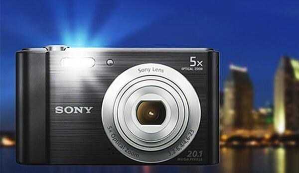 Máy ảnh du lịch Sony DSC-W800