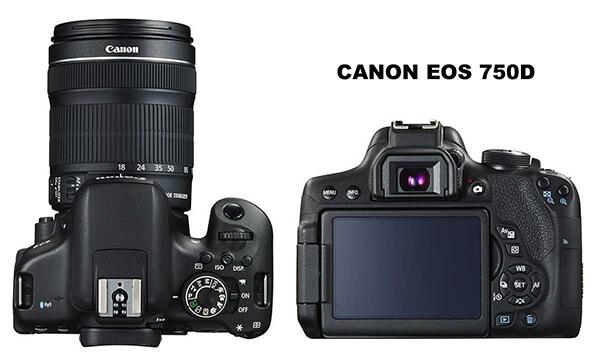 EOS 750D lens EF-S18-55mm IS STM