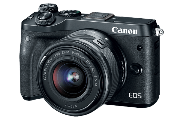 Canon EOS M6 kit EF-M15-45 IS STM