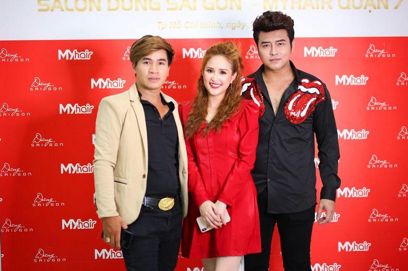 Vợ chồng diễn viên Phương Hằng - Anh Tâm