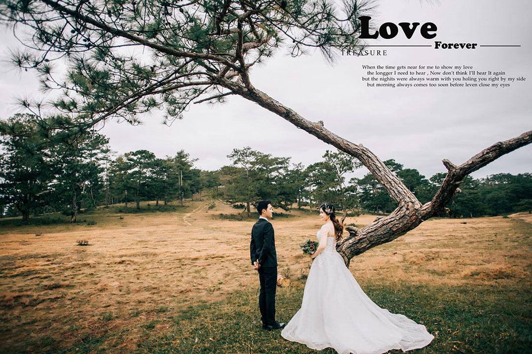 Tuấn Art Wedding - Chụp hình cưới đẹp tại Đà Lạt