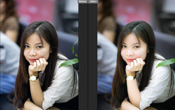Cách chỉnh sửa ảnh chân dung trên camera raw