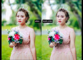 Hình ảnh File Raw và JPG áp dụng 1 preset có cho ra màu giống nhau không ?