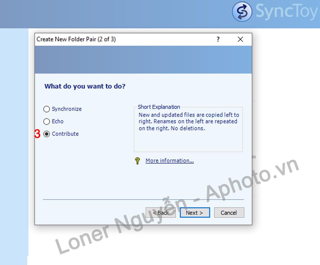 Hướng dẫn Sao lưu, Đồng bộ hóa dữ liệu với Microsoft SyncToy