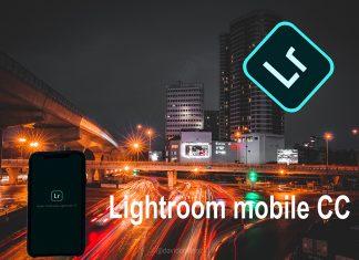 Hướng dẫn blend màu Moody trên phần mềm Lightroom CC Mobile
