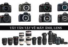 Tổng hợp máy ảnh và lens