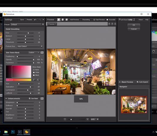 Chia sẻ plugin làm mịn da portraiture bản quyền cho phần mềm Lightroom