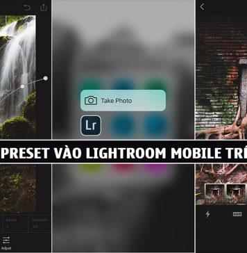 Hướng dẫn cách import preset lightroom mobile trên ios iphone, ipad