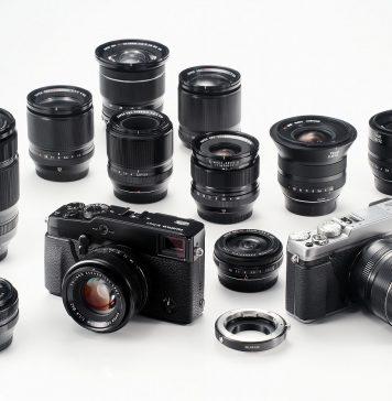 Các lens máy ảnh Fujifilm