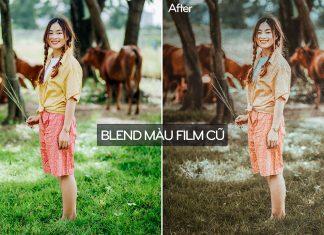 Cách tạo hiệu ứng ảnh film cũ bằng photoshop
